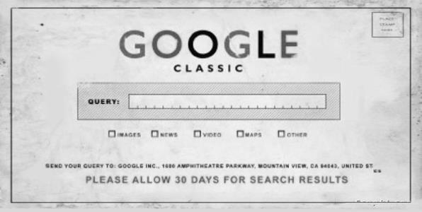google classic y el pasado de seo